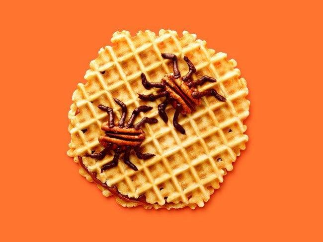 Buggy Waffle Cookies