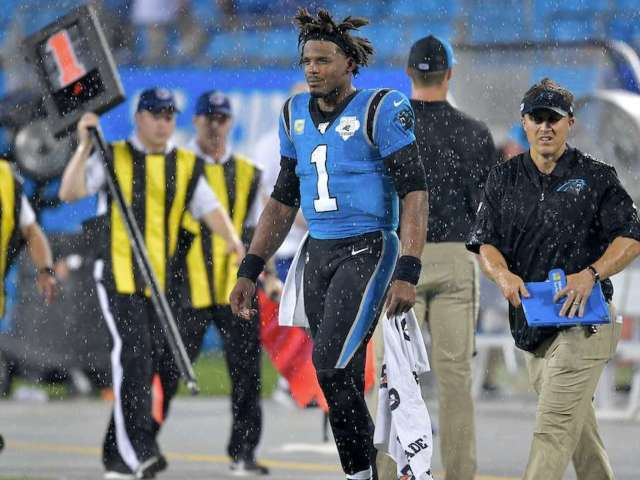Carolina Panthers QB Cam Newton Ruled out for Sunday's Game