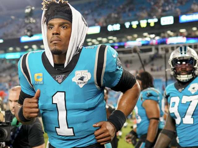 Colin Cowherd Says Panthers Will Use Cam Newton Foot Injury to Find Another QB