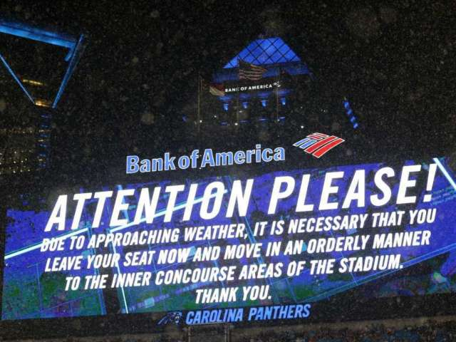 Carolina Panthers Fans Fight Each Other During Weather Delay