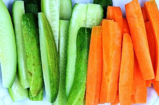 carrots-cucumber