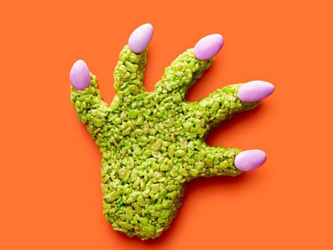 Cereal Monster Hands