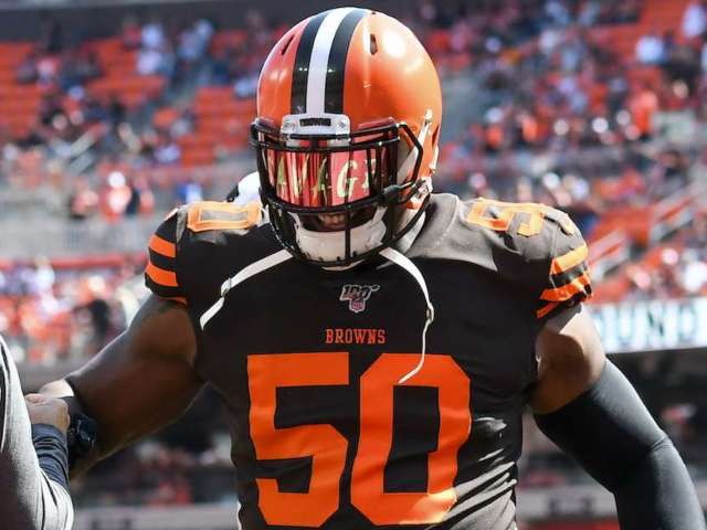 Browns Defender Chris Smith to Play First Game Since Girlfriend's Death