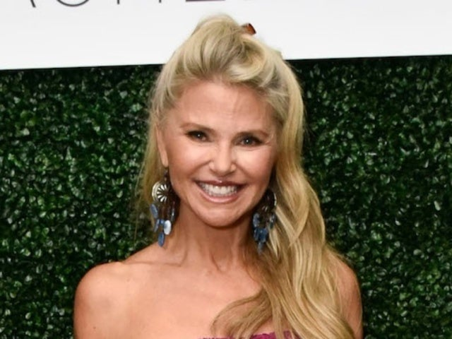 Christie Brinkley Posts Photo of Herself Plummeting on Splash Mountain With Her Cast Front and Center