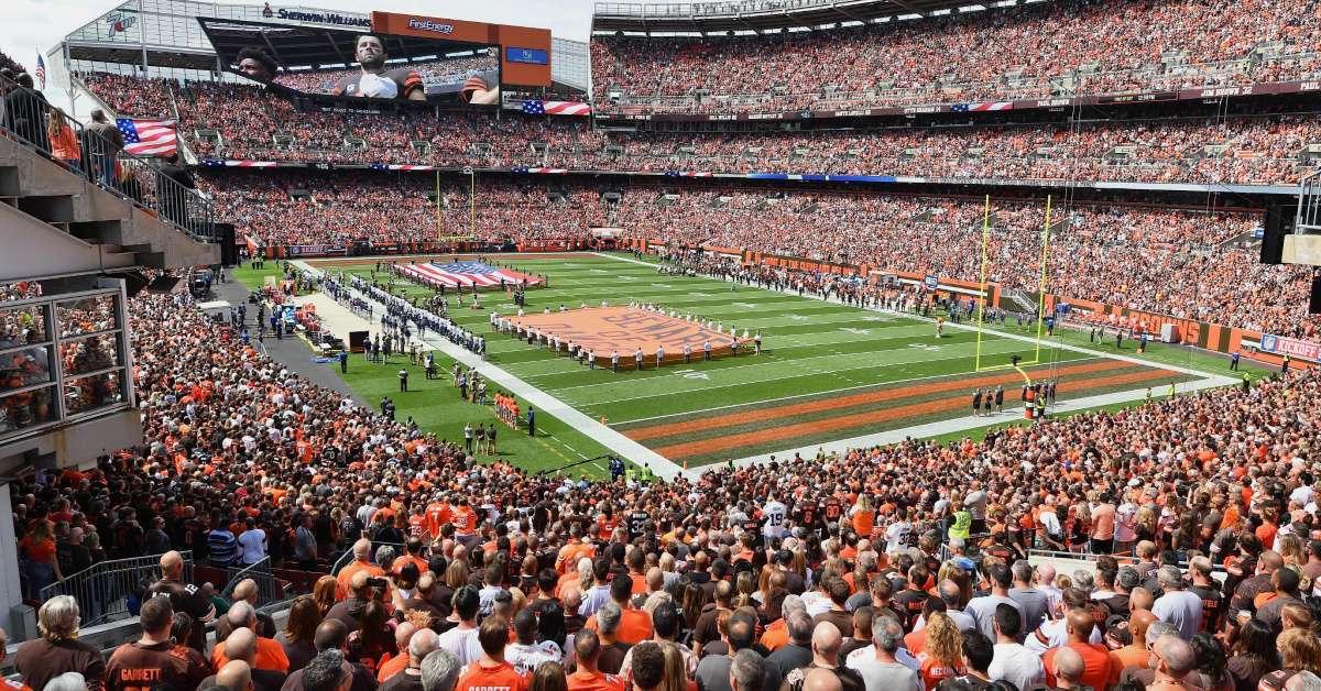 Cleveland Browns Fan seizure