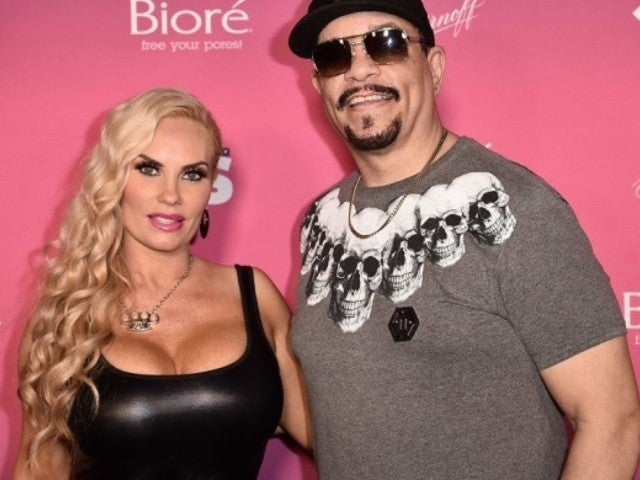 Coco Austin Rocks Epic Spiked Dress During NYFW
