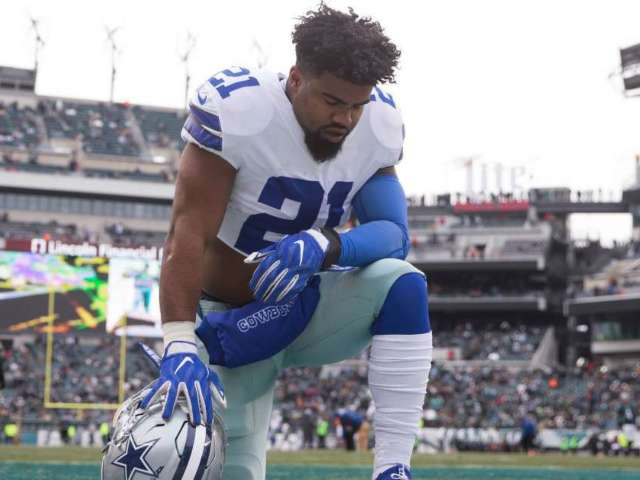 Colin Cowherd Says Jerry Jones' Handling of Ezekiel Elliott's Contract Is Message to Other Cowboys Players