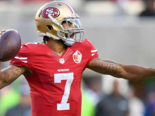 Colin Kaepernick Is a Pass for New Orleans Saints