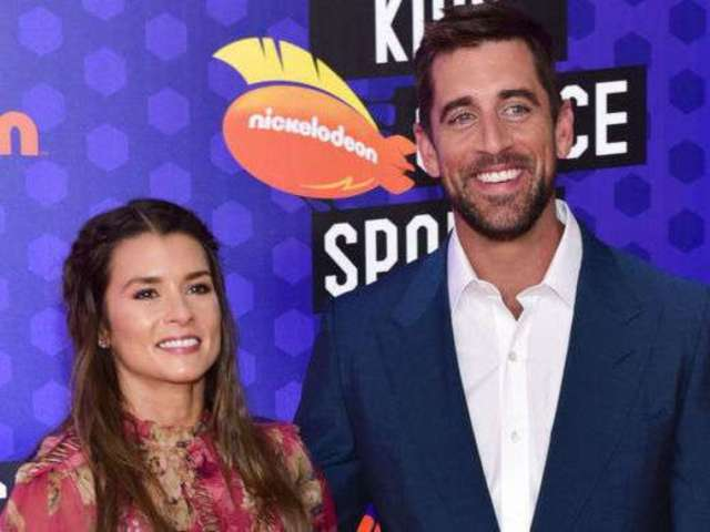Danica Patrick and Aaron Rodgers Are a Pop Culture Delight With Their Couples Halloween Costume