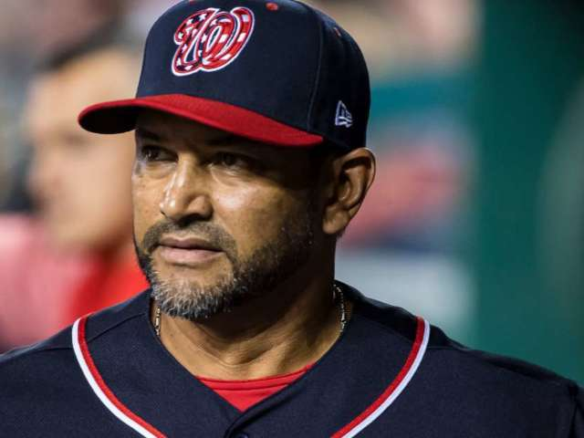Washington Nationals Manager Dave Martinez Has Heart Procedure