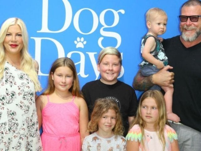 Tori Spelling Mom-Shamed Over Daughters' Makeup and Pink Hair
