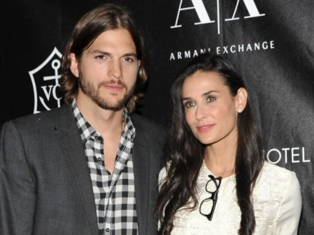 Demi Moore Makes Claim Ashton Kutcher Cheated Twice, Pressured Her to Drink and Have Threesomes