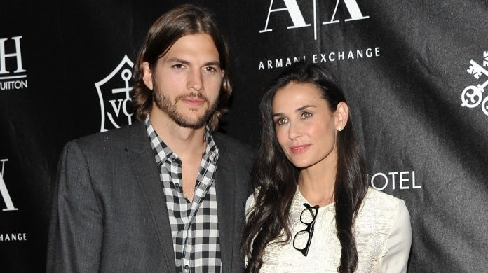 demi moore ashton kutcher getty images