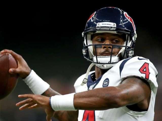Houston Texans QB Deshaun Watson Receives $25,000 Diamond Chain for 24th Birthday