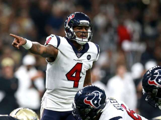 Deshaun Watson to Send Signed Jersey to Sad Young Fan After Houston Texans' Loss