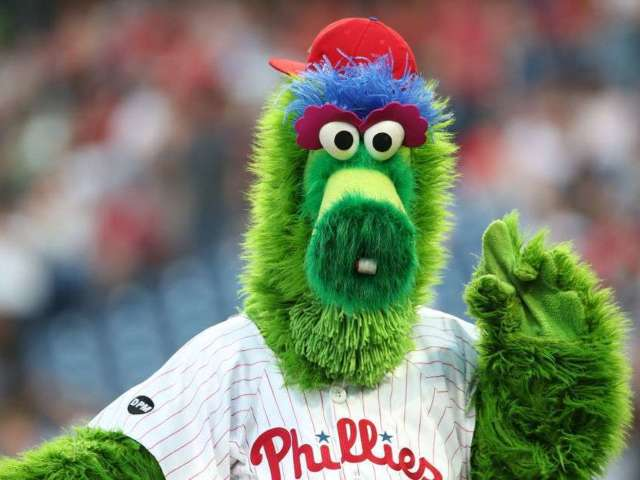 Eagles Fan Spotted With Phillie Phanatic Tattoo Engulfing His Belly Button