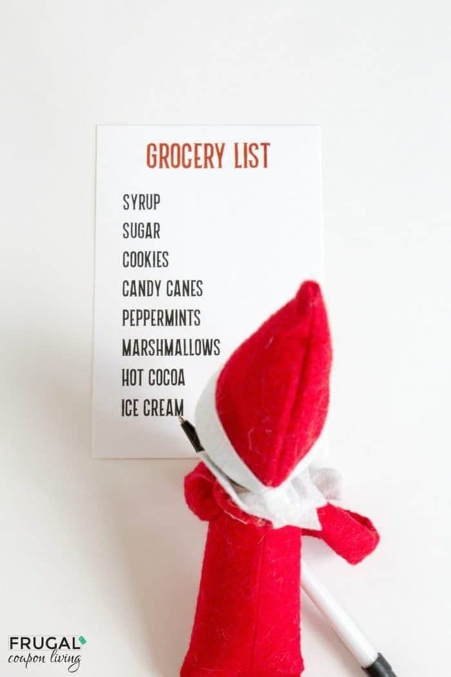 elf-on-the-shelf-ideas-grocery-list-frugal-coupon-living-e1509570022233
