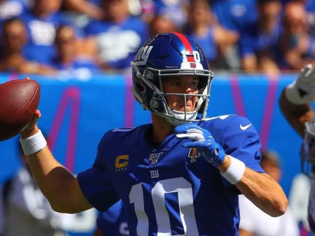New York Giants QB Eli Manning Reacts to Being Benched for Rookie Daniel Jones