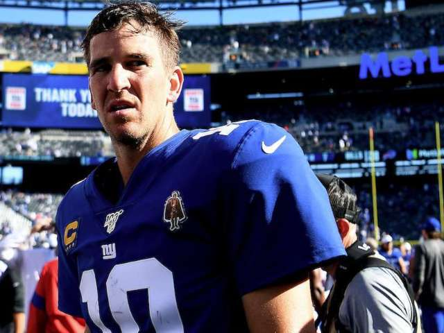 Former NFL WR James Jones Predicted Eli Manning's Benching in August