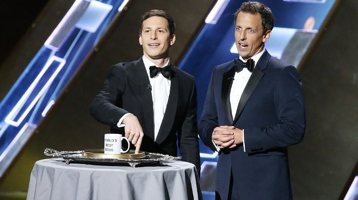 emmys andy samberg seth meyers getty images