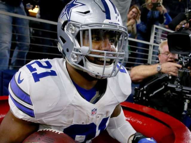 Ezekiel Elliott Donates $100,000 to Salvation Army After Signing Big Contract