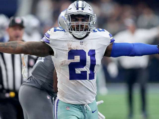 Ezekiel Elliott Gives First Interview After Signing Massive Contract With Cowboys