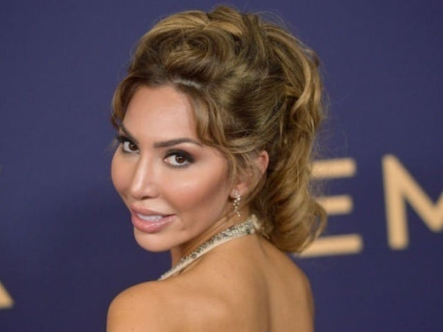 Emmys 2019: Farrah Abraham Sports Glittering Nude Gown on Red Carpet