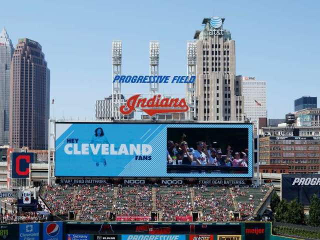 Watch Cleveland Indians Fans Fight Each Other During Game