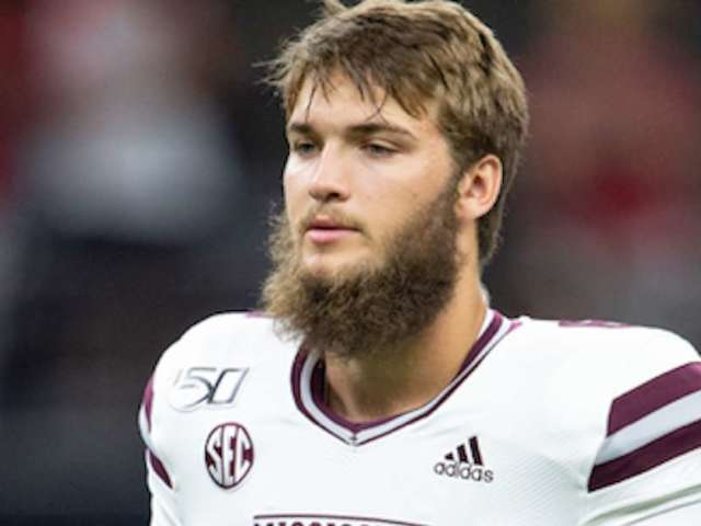 Mississippi State QB Garrett Shrader Gets Launched During Late Run