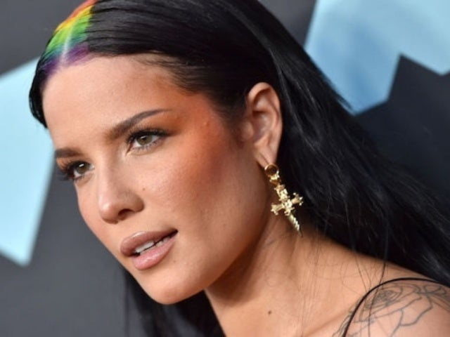 Halsey Steals the Show at DKNY Party With Stunning Dress