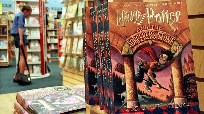 harry potter books getty images