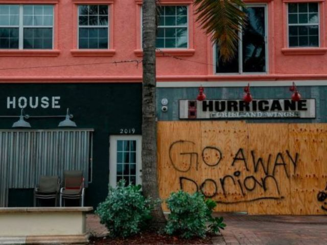 Hurricane Dorian: Man Parks Car in Kitchen So It Won't Blow Away'