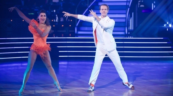 james van der beek dwts abc