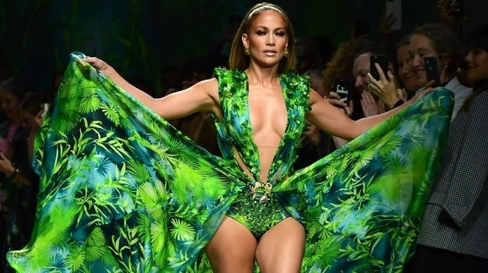jennifer lopez versace getty images