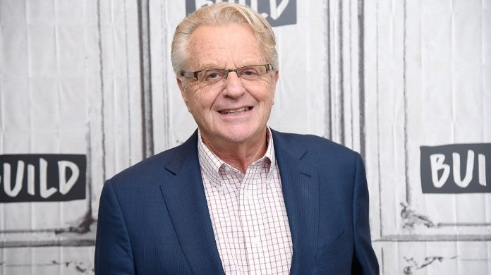 jerry springer getty images