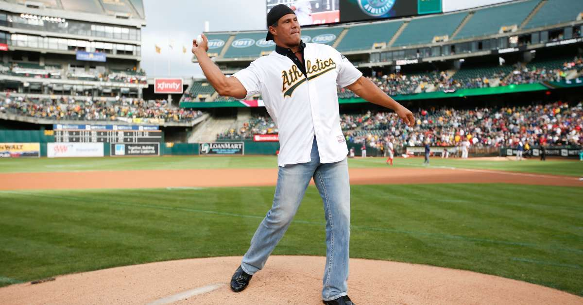 Jose Canseco pro wrestling debut