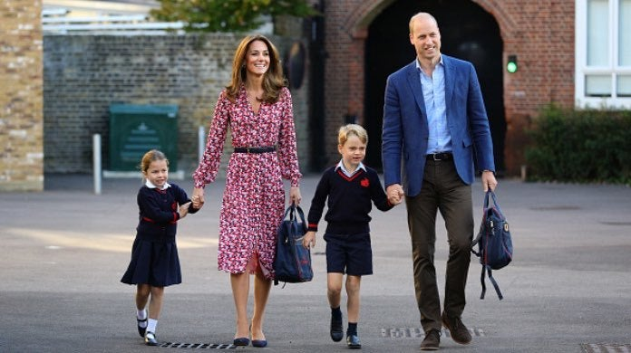 Kate Middleton, Prince William and children-2