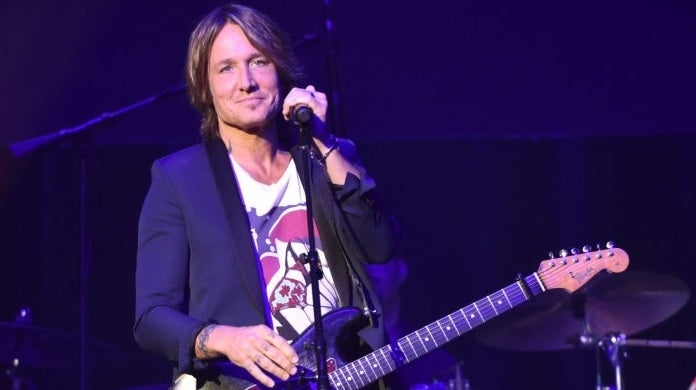 keith urban getty images