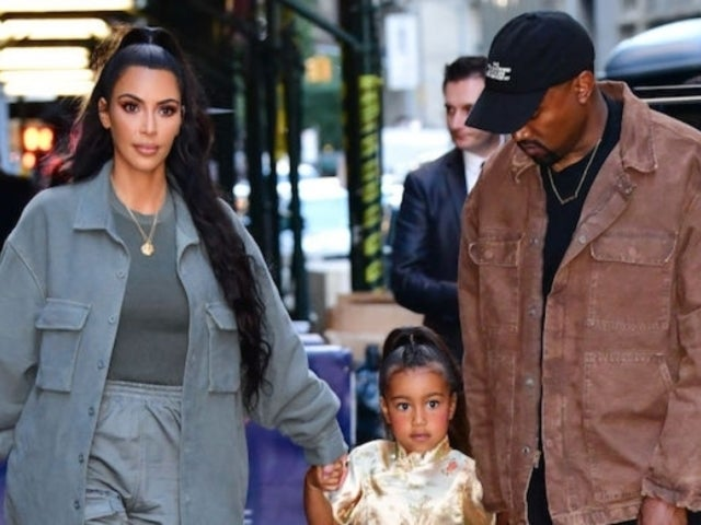 Kim Kardashian Reveals She 'Got in Trouble' With Kanye West for Letting Daughter North Wear Makeup
