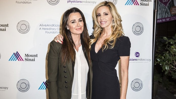 Kyle Richards and Camile Grammer-2