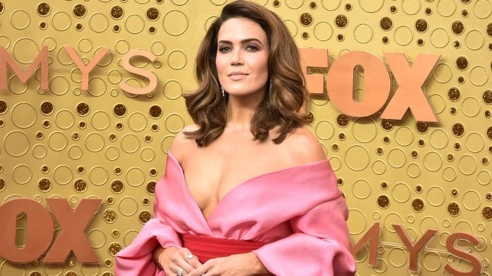 mandy moore emmys getty images