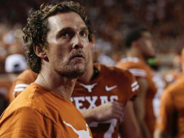 Matthew McConaughey Appears on College Game Day and Twitter Is in love