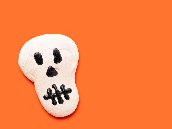 Meringue Skulls