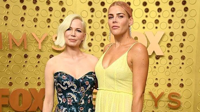 michelle williams busy philipps getty images