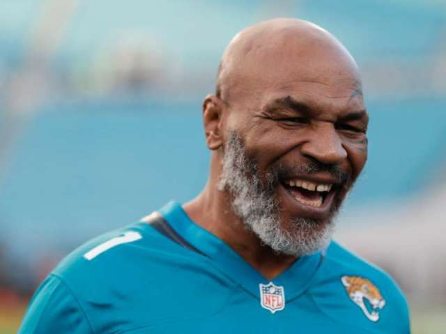 Watch Mike Tyson Show Love for Jacksonville Jaguars