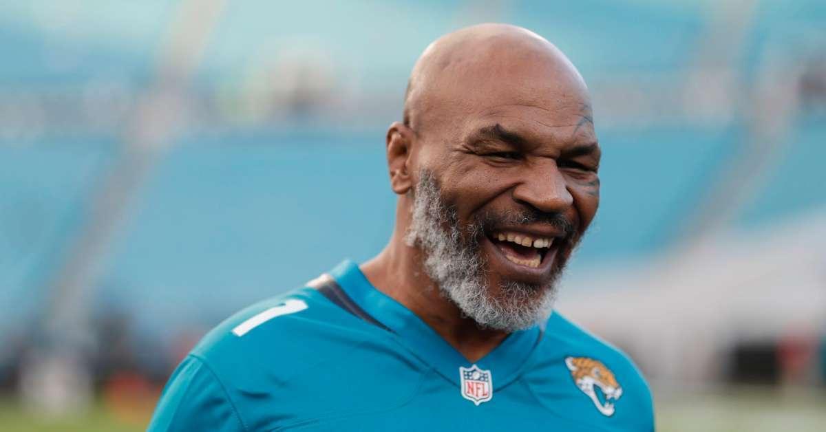 Mike Tyson love Jacksonville Jaguars