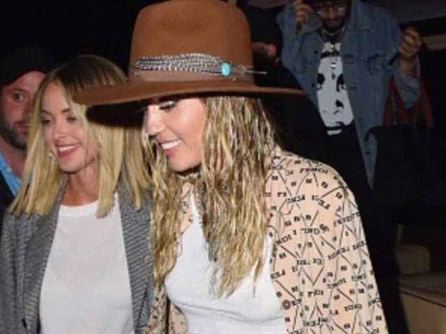 Miley Cyrus and Kaitlynn Carter Relish in Steamy PDA Session During NYC Date Night
