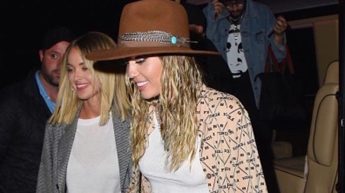 Miley Cyrus and Kaitlynn Carter-2