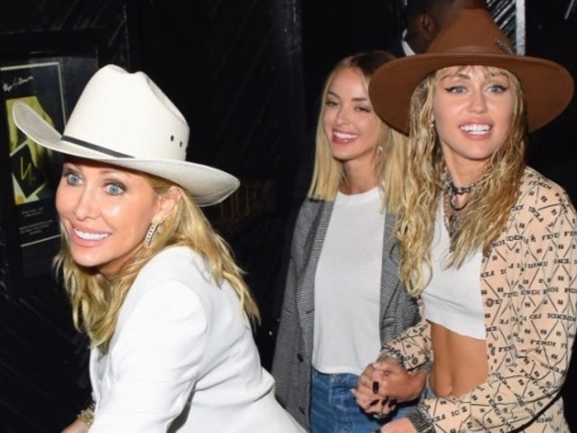 Miley Cyrus Spends Weekend With Mother Tish, Sister Brandi Following Split From Kaitlynn Carter in New Photo