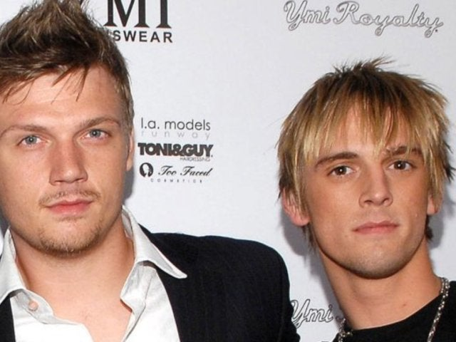Aaron Carter Tweets All Caps Response Immediately After Nick Carter's Wife Gives Birth